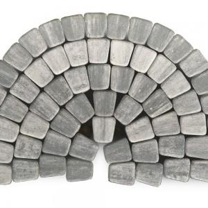 Тротуарная плитка «Классико круговая» Color Mix Тип 7 «ТУМАН»