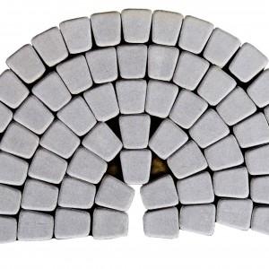 Тротуарная плитка «Классико круговая» ГРИФЕЛЬНЫЙ