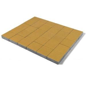 Тротуарная плитка «Лувр» ЖЕЛТЫЙ 200x200