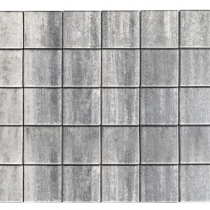 Тротуарная плитка «Лувр» Color Mix Тип 7 «ТУМАН» 200х200