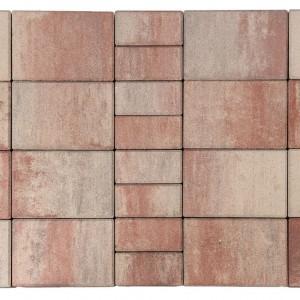 Тротуарная плитка «Мозаика» Color Mix «ФЛАМИНГО»