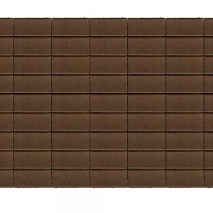 Тротуарная плитка «Прямоугольник» КОРИЧНЕВЫЙ 40 200x100