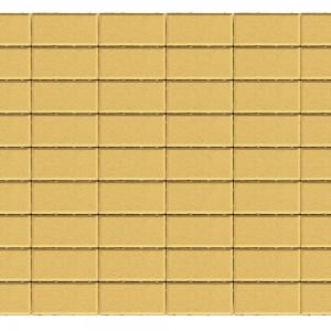 Тротуарная плитка «Прямоугольник» ПЕСОЧНЫЙ 40 200x100