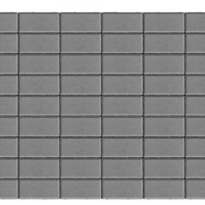 Тротуарная плитка «Прямоугольник» СЕРЫЙ 40 200x100