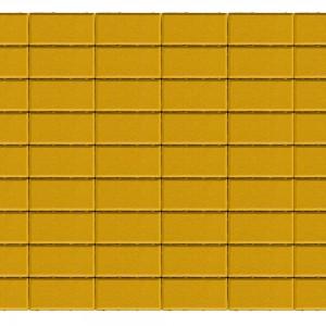 Тротуарная плитка «Прямоугольник» ЖЁЛТЫЙ 40 200x100