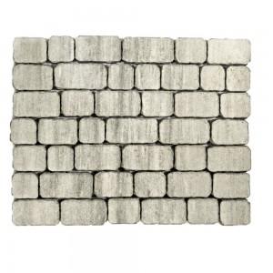 Тротуарная плитка «Ривьера» Color Mix Тип 7 «ТУМАН» 133х132