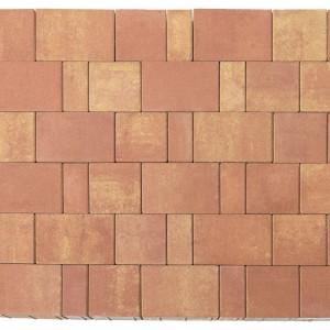 Тротуарная плитка «Старый город Ландхаус» Color Mix Тип 10 «РАССВЕТ» 60