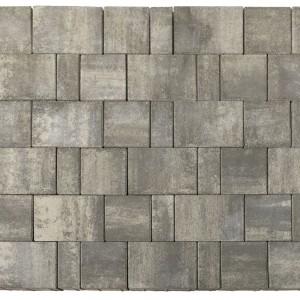 Тротуарная плитка «Старый город Ландхаус» Color Mix Тип 7 «ТУМАН» 60