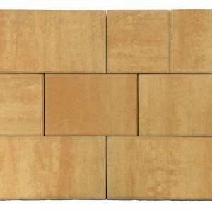 Тротуарная плитка «Триада» Color Mix Тип 28 «САХАРА»