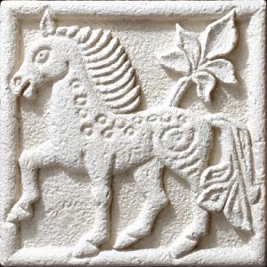 Барельеф «Буря-конь» 80830