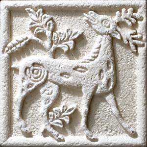 Барельеф «Златорогий олень» 80930